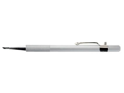 Druckknopfmesser mit einer 45° Klinge.