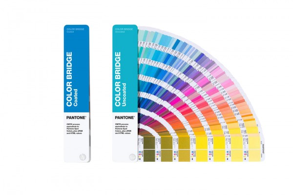 PANTONE® PLUS SERIES COLOR BRIDGE® 2 GUIDES SET coated/uncoated