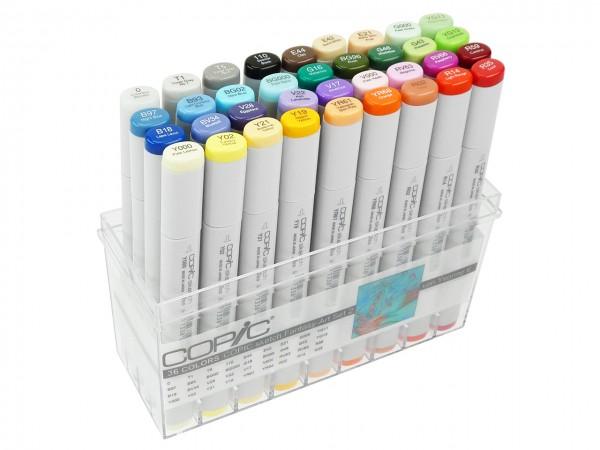 COPIC® sketch Marker, Fantasy-Art 2 Spezial-Set, mit 36 Farben