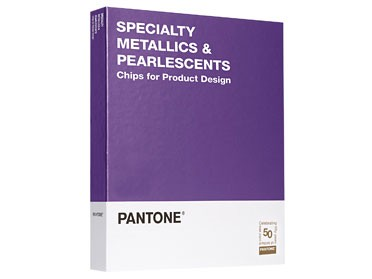 PANTONE® Specialty Metallics & Pearlescents Chips Book