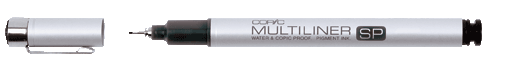 COPIC® MULTILINER SP Strichbreite 0,1mm