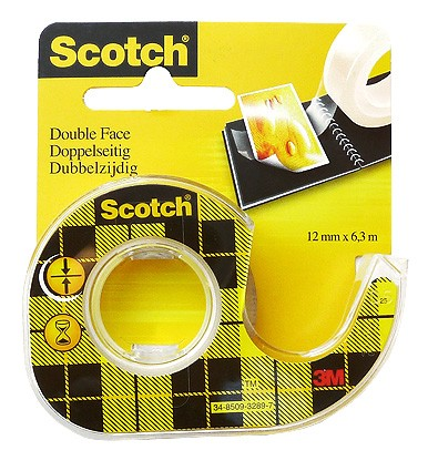 Scotch Double Coated Tape 665 / 12 mm x 6.3 m