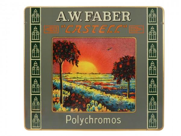 Farbstifte Polychromos, RETRO EDITION Set mit 24 Farben in Metallschachtel