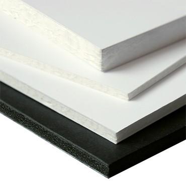 Depafit / Leichtschaumplatten 10 mm / weiss / Format 70 x 100 cm