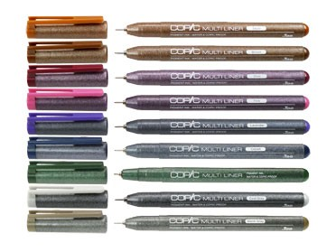 COPIC® MULTILINER Cobalt / Strichbreiten 0,05 mm - 0,5 mm