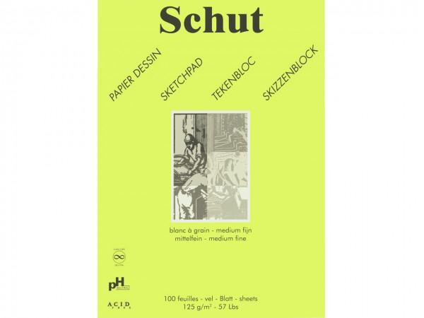 Skizzen / Zeichenblock 125g/m Format A4 (21 x 29.7 cm)