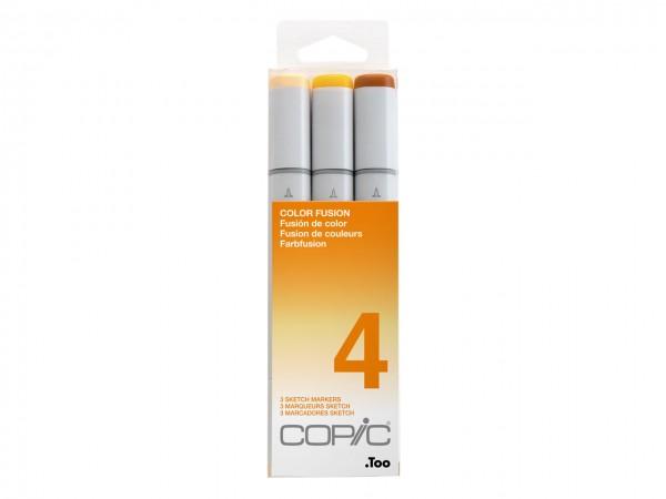 COPIC® sketch Marker 3er Set / Color Fusion 4