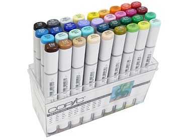 COPIC® sketch Marker, Fantasy-Art 1 Spezial-Set, mit 36 Farben