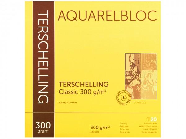 Aquarellblock TERSCHELLING Classic Format 20 x 20 cm