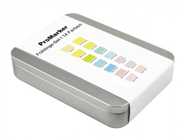 ProMarker von LETRASET® Frühlingsfarben-Set