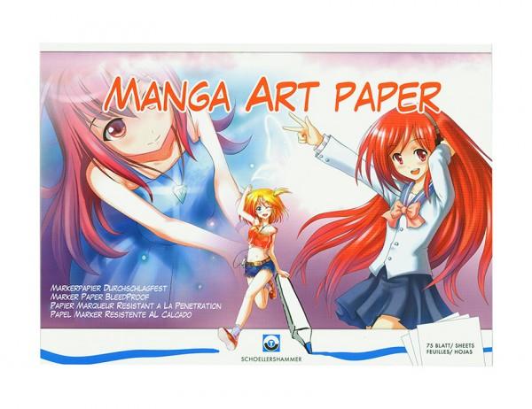 Manga Art Paper Markerblock A3