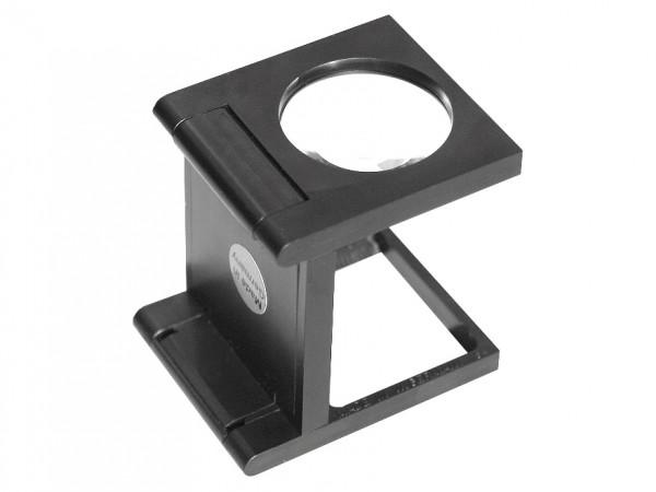 Fadenzähler 5-fach aus schwarzem Kunststoff