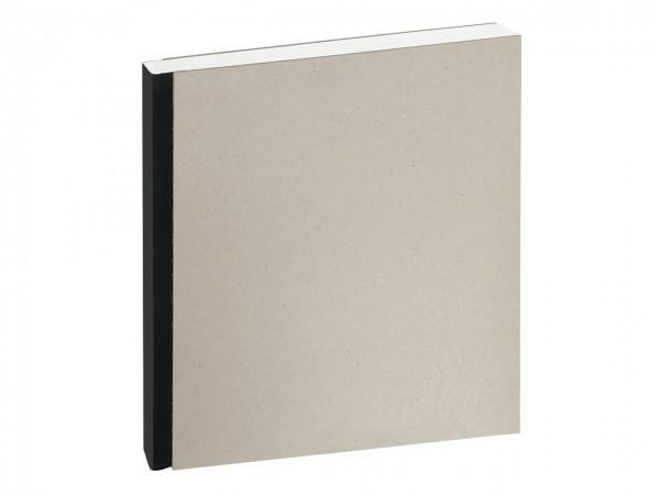Skizzenbuch mit Leinenrücken / 21 x 21 cm