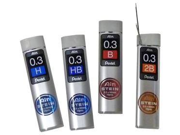 Ersatzminen Ain Stein Pentel 0.3 mm