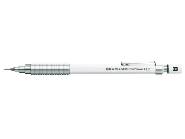 Pentel GRAPH 600 / weiss 0.7mm
