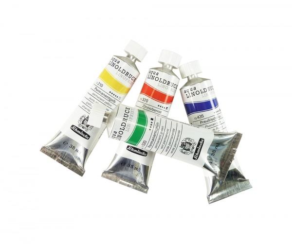 aqua-Linoldruck-Farben von Schmincke