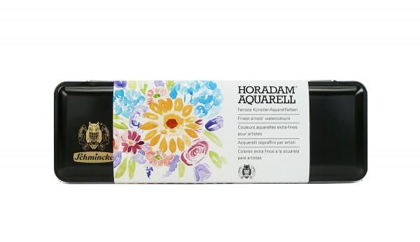 Aquarell Malkasten Schmincke mit 12 HORADAM® feinste Künstlerfarben, Frühling-Edition