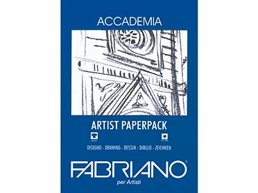 FABRIANO® Accademia Artist Paperpack 200g/m / A3
