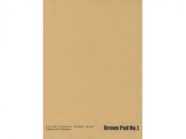 Brown Pad No. 1 / Format A4
