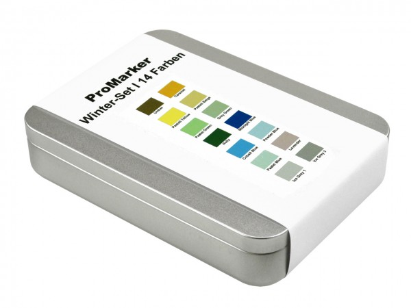 ProMarker von LETRASET® Winterfarben-Set