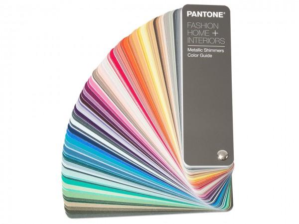 PANTONE® FHI Metallic Shimmers Color Guide