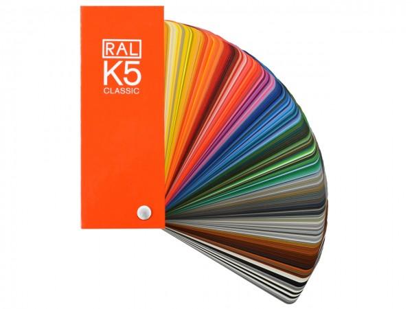 RAL CLASSIC K5 Farbfächer / semi-matt