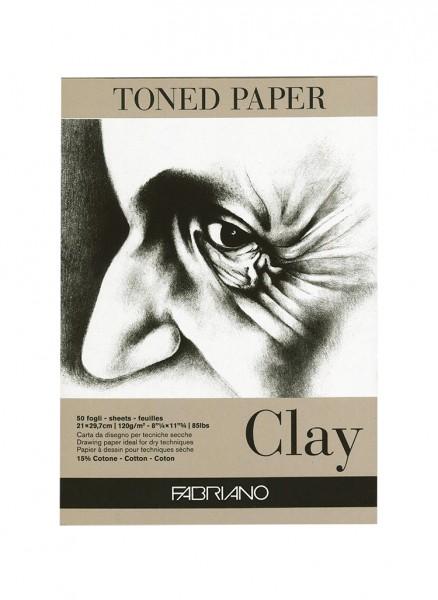 Zeichenpapier Clay / Format A4