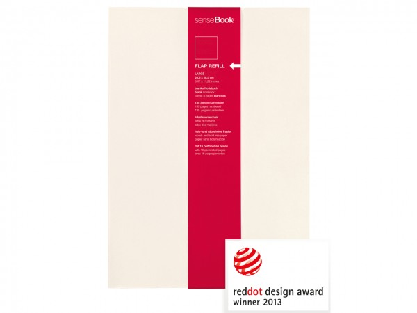 Refill für senseBook FLAP / large