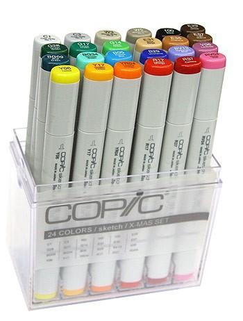 COPIC® sketch Marker, Unser Starter-Set mit 24 Farben