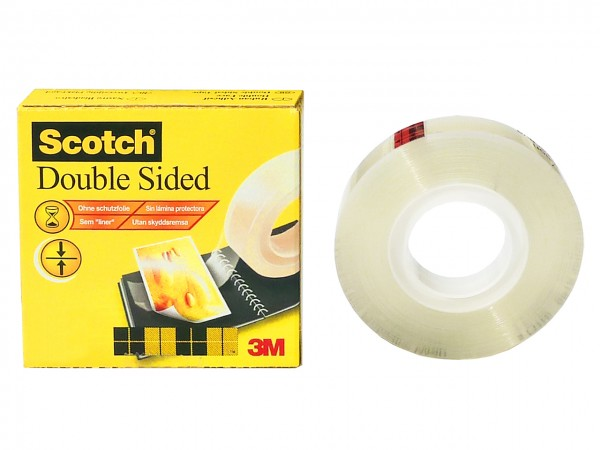 Scotch Double Coated Tape 665 / 12 mm x 33 m