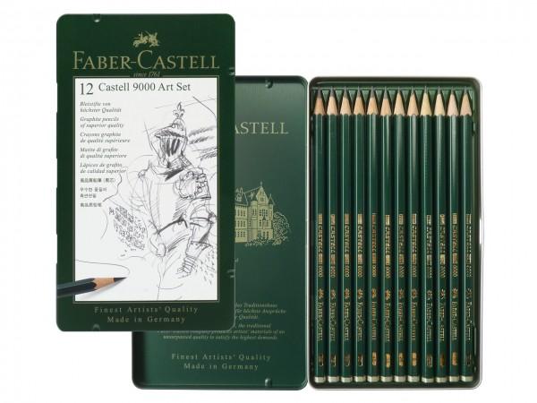 Bleistifte Faber-Castell 9000 ART SET