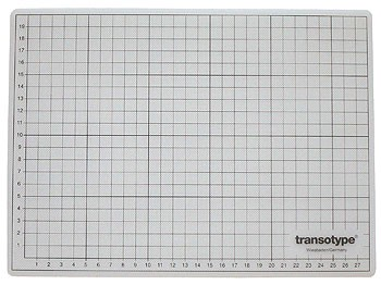 Schneidematte transparent 45 x 60 cm