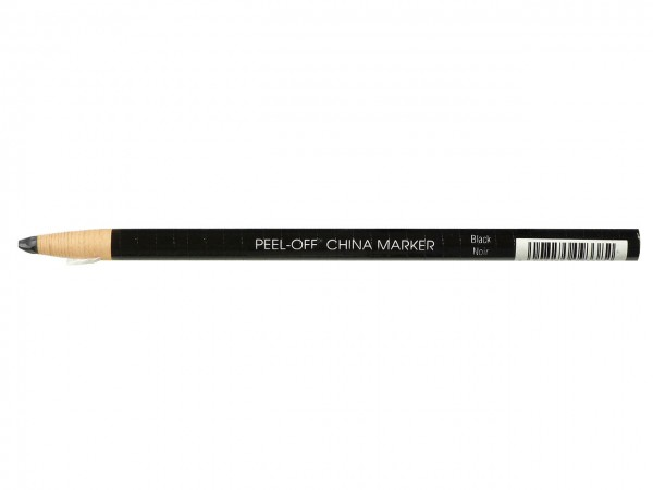 Fettstifte / China Marker schwarz