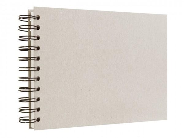 Skizzenbuch mit Spiralbindung / A4 / quer