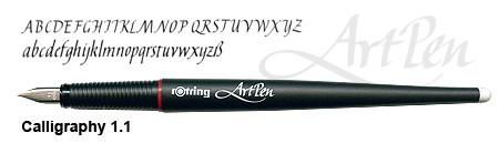 rotring ArtPen Calligraphy 1.1