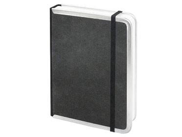 Notizbuch mit Metallkanten / 21 x 29,7 cm