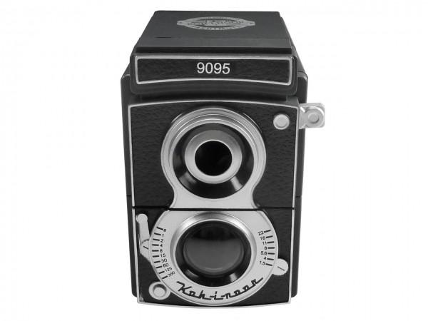 Spitzmaschine im Kamera-Look