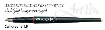 rotring ArtPen Calligraphy 1.5