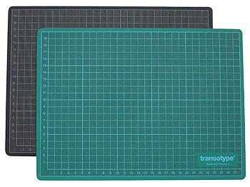 Schneidematte grün / schwarz 60 x 90 cm