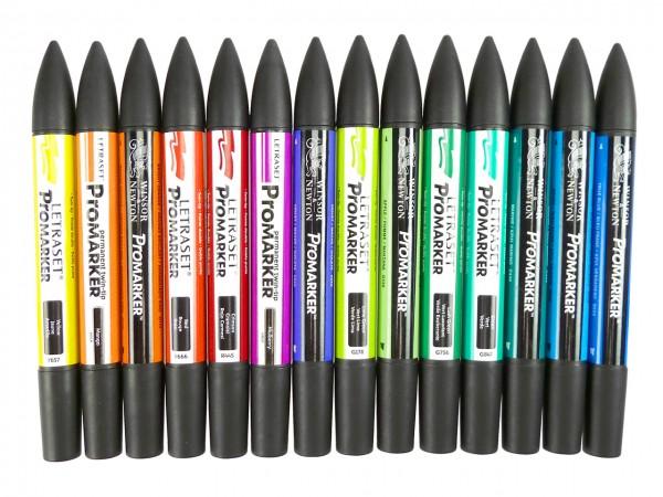 ProMarker mit 14 Farben / Sommerfarben