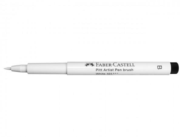 Faber-Castell PITT artist pen weiss, brush