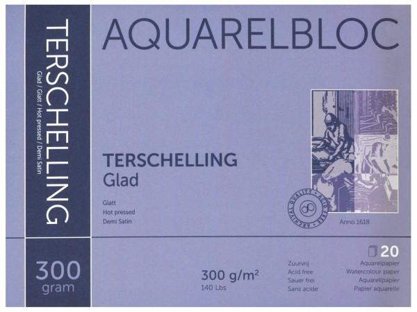 Aquarellblock TERSCHELLING Glatt Format 18 x 24 cm