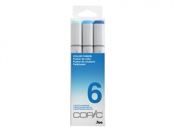 COPIC® sketch Marker 3er Set / Color Fusion 6