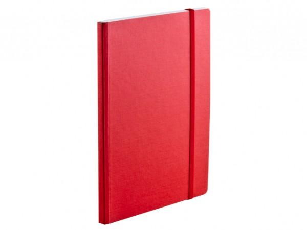 Fabriano® EcoQua / Notizbuch mit Gummiband A6