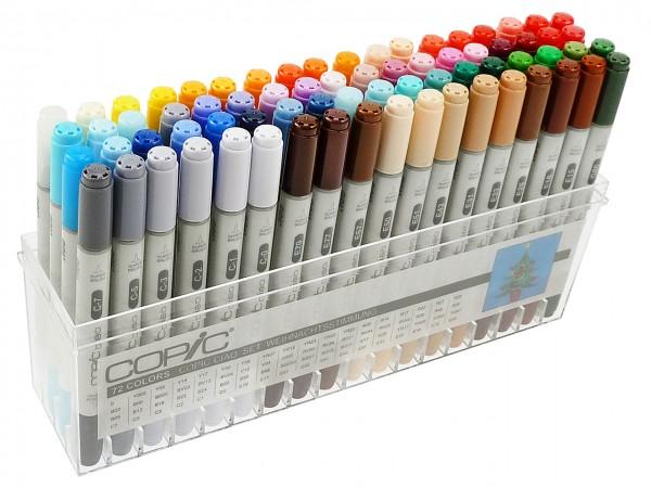 COPIC® ciao Marker Set, Weihnachtsstimmung mit 72 Farben
