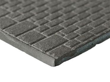 Quadrat-Mauerwerk